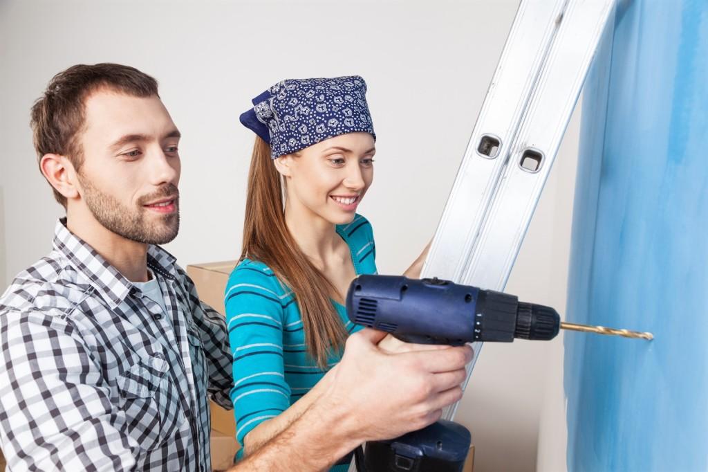 Die Wohnung Sanieren oder Renovieren mit günstigen Krediten
